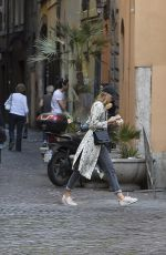 MARIA SHARAPOVA Out and About in Rome 05/12/2018