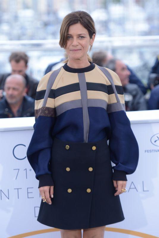 MARINA FOIS at Le Grand Bain Photocall at 2018 Cannes  Film Festival 05/13/2018