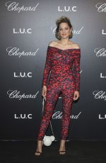 MARION COTILLARD at Chopard Gentleman's Night at 2018 Cannes Film Festival 05/09/2018