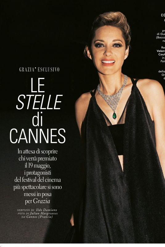 MARION COTILLARD in Grazia Magazine, Italy May 2018
