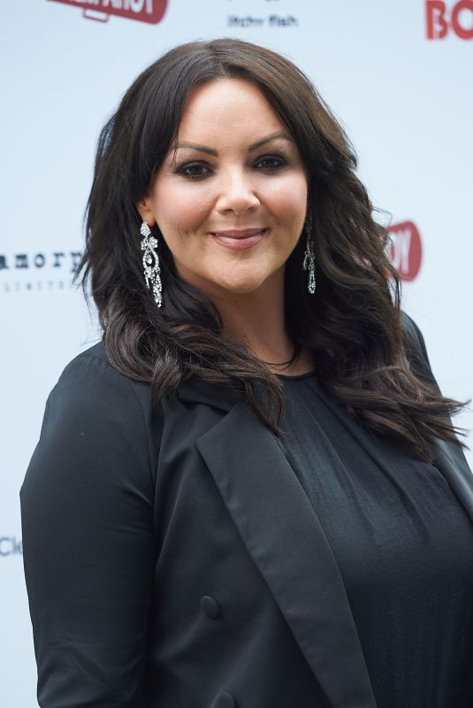 MARTINE MCCUTCHEON at Bromley Boys Premiere in London 05/24/2018