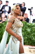 MARY J. BLIGE at MET Gala 2018 in New York 05/07/2018