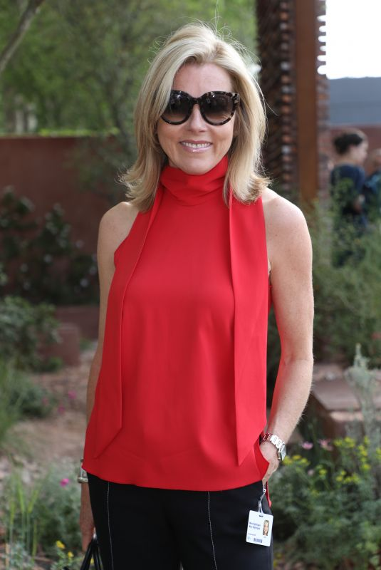 MARY NIGHTINGALE at Chelsea Flower Show in London 05/21/2018