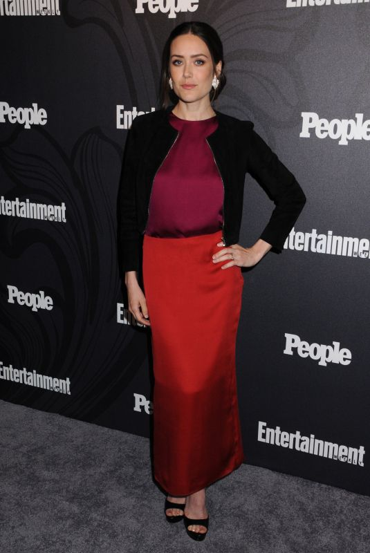 MEGAN BOONE at EW & People New York Upfronts Celebration 05/14/2018