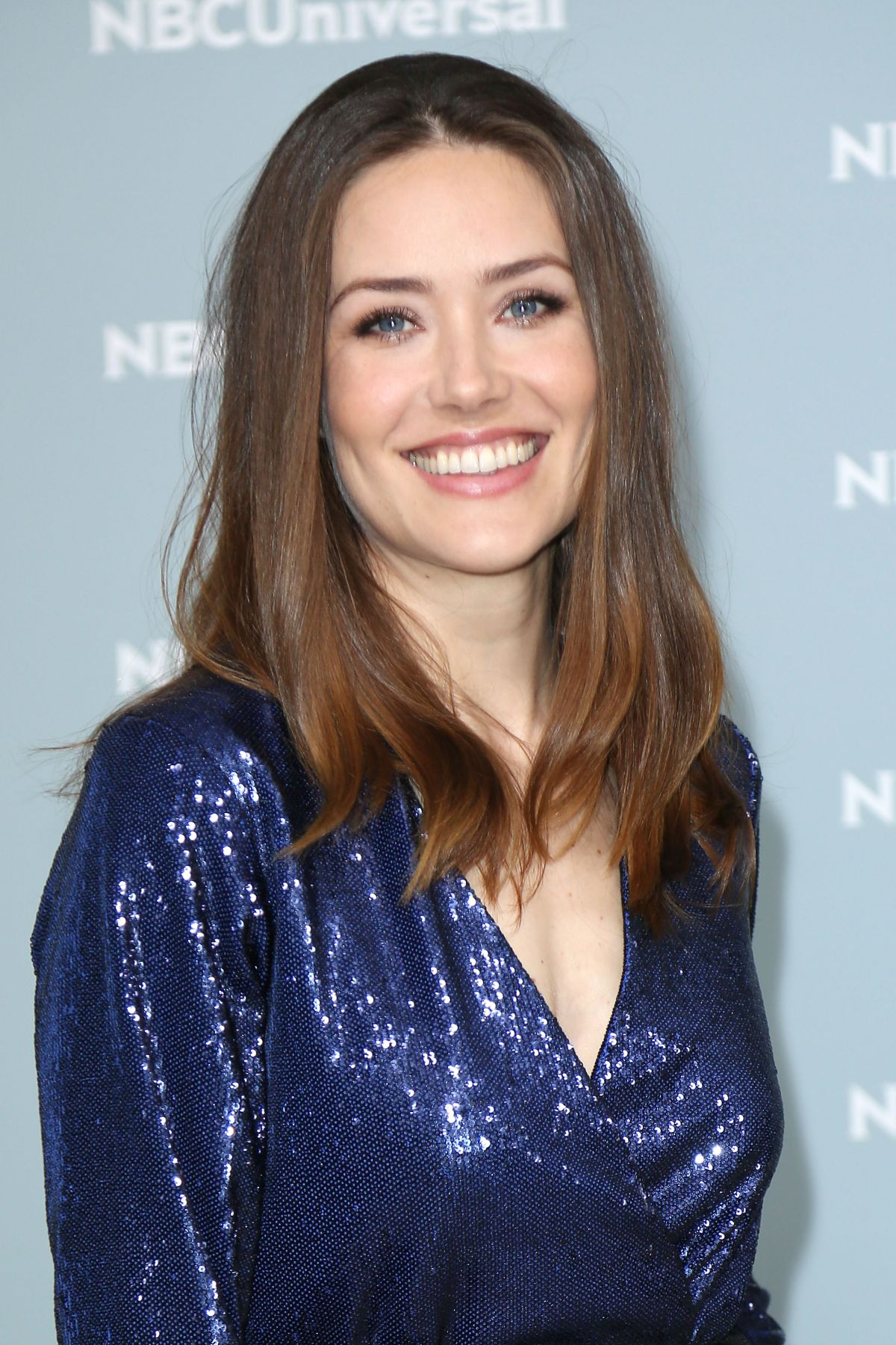 MEGAN BOONE at NBCUniversal Upfront Presentation in New