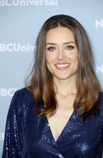 MEGAN BOONE at NBCUniversal Upfront Presentation in New York 05/14/2018