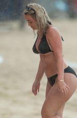 MEGAN DAVISON in Bikini on the Beach in Barbados 05/19/2018