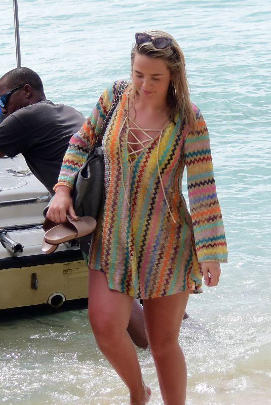 MEGAN DAVISON on Vacation in Barbados 05/19/2018