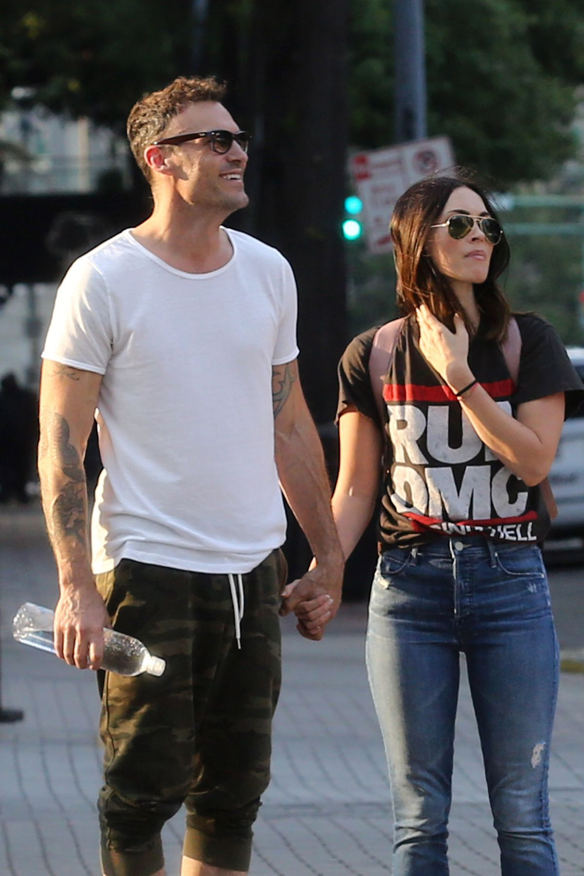 Megan Fox And Brian Austin Green Out In New Orleans 05 15