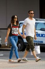 MEGAN FOX and Brian Austin Green Out in New Orleans 05/15/2018
