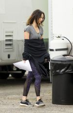 MEGAN FOX on the Set of Think Like a Dog in New Orleans 05/06/2018