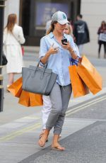 MEGAN MCKENNA Leaves Louis Vuitton Store in London 05/04/2018