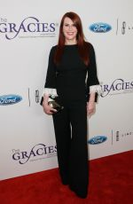 MEGAN MULLALLY at 2018 Gracie Awards Gala in Beverly Hills 05/22/2018