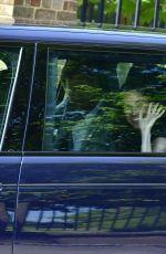 MEGHAN MARKLE and Prince Harry Leavines Kensington Palace 05/18/2018