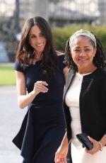 MEGHAN MARKLE Arrives at Cliveden House Hotel in Berkshire 05/18/2018