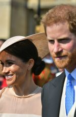 MEGHAN MARKLE at a Garden Party at Buckingham Palace in London 05/22/2018