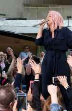 MEGHAN TRAINOR Performs at Today Show Citi Concert Series in New York 05/16/2018