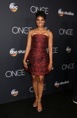 MEKIA COX at Once Upon A Time Finale Event in Los Angeles 05/08/2018