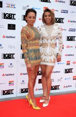 MELANIE BROWN and PHOENIX CHI GULZAR at LGBT Awards 2018 in London 05/11/2018