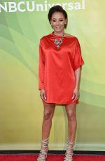 MELANIE BROWN at NBC/Universal Summer Press Day in Universal City 02/05/2018