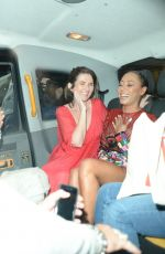 MELANIE BROWN Leaves Hello! Magazine x Dover Street Market Anniversary Party in London 05/09/2018