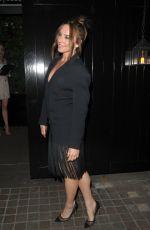 MELANIE CHISHOLM Aarrives at Kylie Minogue