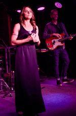 MELANIE CHISHOLM Performs at Boisdale Jazz & Blues Club in London 05/22/2018