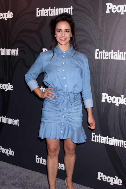 MELISSA FUMERO at EW & People New York Upfronts Celebration 05/14/2018