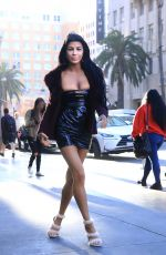 MELISSA HOWE Leaves W Hotel in Hollywood 04/30/2018