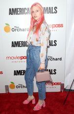 MERY RACAUCHI at American Animals Premiere in New York
