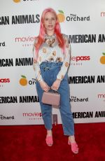 MERY RACAUCHI at American Animals Premiere in New York