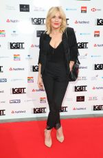 MICHELLE COLLINS at LGBT Awards 2018 in London 05/11/2018