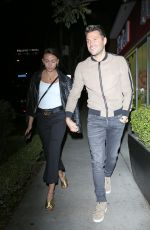 MICHELLE KEEGAN at Il Piccolino in West Hollywood 05/01/2018