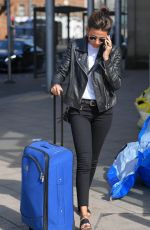 MICHELLE KEEGAN at Piccadilly Train Station in Manchester 05/17/2018