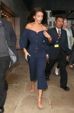 MICHELLE KEEGAN Leaves The One Show in London 05/29/2018
