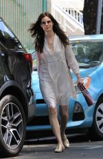 MICHELLE MONAGHAN Out Shopping in Los Angeles 05/05/2018