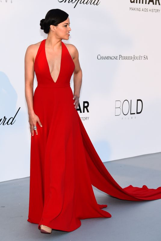 MICHELLE RODRIGUEZ at Amfar