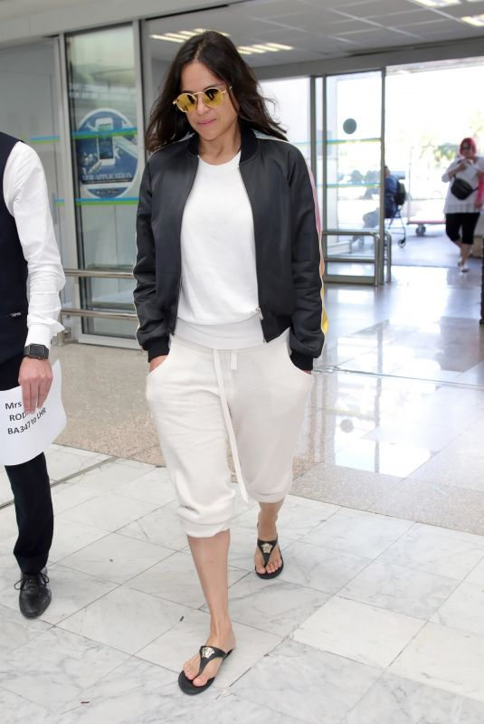 MICHELLE RODRIGUEZ at Nice Airport 05/19/2018