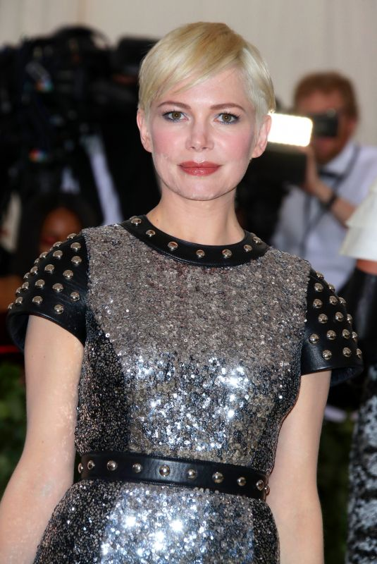 MICHELLE WILLIAMS at MET Gala 2018 in New York 05/07/2018