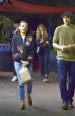 MILA KUNIS and Ashton Kutcher Night Out in Los Angeles 05/22/2018
