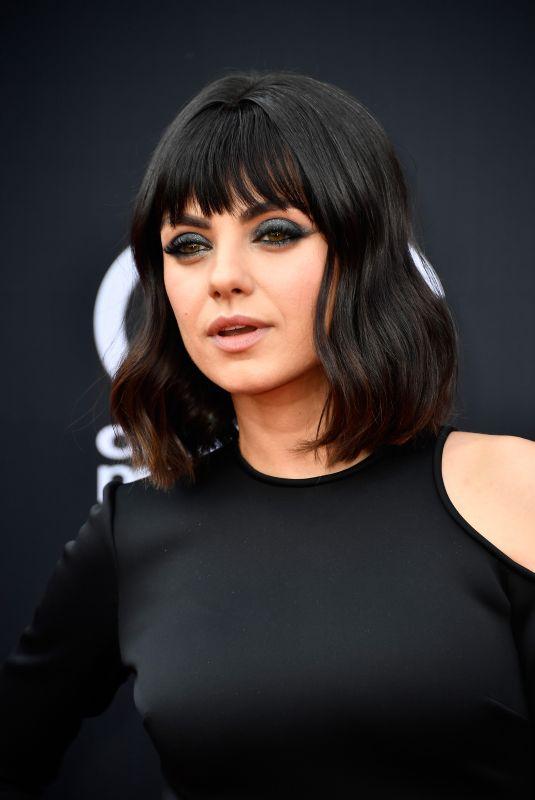 MILA KUNIS at Billboard Music Awards in Las Vegas 05/20/2018