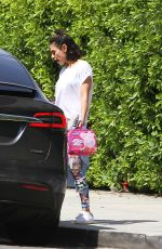 MILA KUNIS Out and About in Los Angeles 05/10/2018