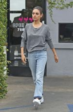 MILA KUNIS Out for Coffiee in Burbanka 05/24/2018