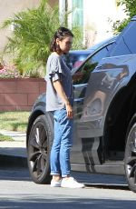 MILA KUNIS Out in Los Angeles 05/16/2018