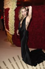 MILEY CYRUS at MET Gala Cocktails in New York 05/07/2018