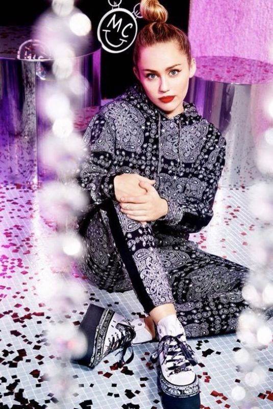 MILEY CYRUS for Converse Collaboration 2018