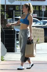 MILEY CYRUS Heading to a Nail Salon in Los Angeles 05/05/2018
