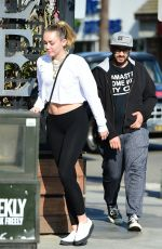 MILEY CYRUS Out and About in Los Angeles 05/23/2018