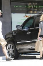 MILEY CYRUS Out Shopping in Malibu 05/26/2018