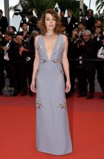 MILLA JOVOVICH at Burning Premiere at 71st Annual Cannes Film Festival 05/16/2018